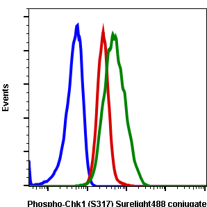 Phospho-Chk1 (Ser317) (Clone: G1) rabbit mAb SureLight 488 conjugate