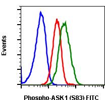 Phospho-Ask1 (Ser83) (Clone: G4) rabbit mAb FITC conjugate