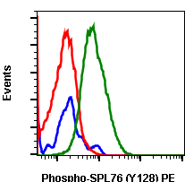 Phospho-SLP-76 (Tyr128) (Clone: 3F8) rabbit mAb PE conjugate