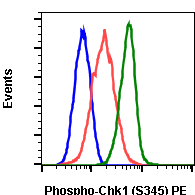 Phospho-Chk1 (Ser345) (Clone: R3F9) rabbit mAb PE conjugate