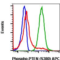 Phospho-PTEN (Ser380) (Clone: NA9) rabbit mAb APC conjugate