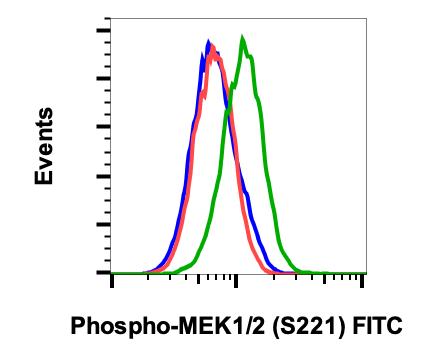 Phospho-MEK1/2 (Ser221) (Clone: D3) rabbit mAb FITC Conjugate