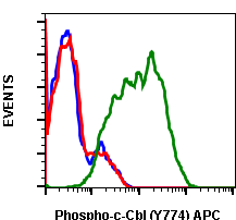 Phospho-c-Cbl (Tyr774) (Clone: R3B8) rabbit mAb APC conjugate