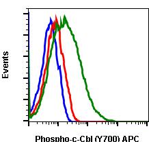 Phospho-c-Cbl (Tyr700) (Clone: E1) rabbit mAb APC conjugate