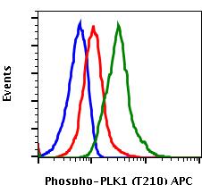 Phospho-PLK1 (Thr210) (Clone: C2) rabbit mAb APC conjugate