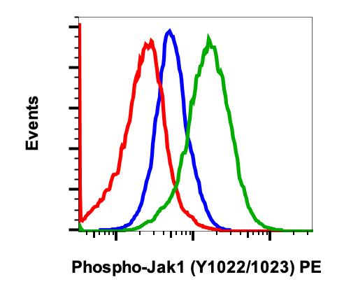 Phospho-Jak1 (Tyr1022/1023) (Clone: F11) rabbit mAb PE Conjugate