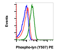 Phospho-Lyn (Tyr507) (Clone: 5B6) rabbit mAb PE conjugate