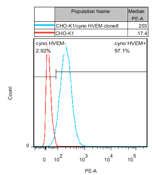 HVEM Stable Cell Line-CHO-K1-Cynomolgus(Currently Unavailable)