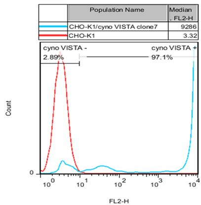 VISTA Stable Cell Line-CHO-K1-Cynomolgus(Currently Unavailable)