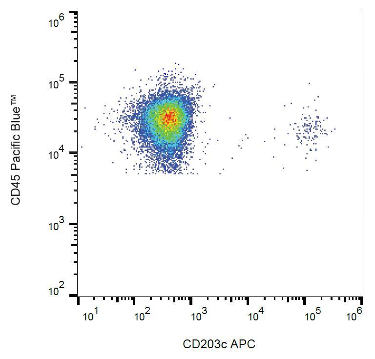 Anti-CD203c Monoclonal Antibody (Clone:NP4D6)-APC Conjugated