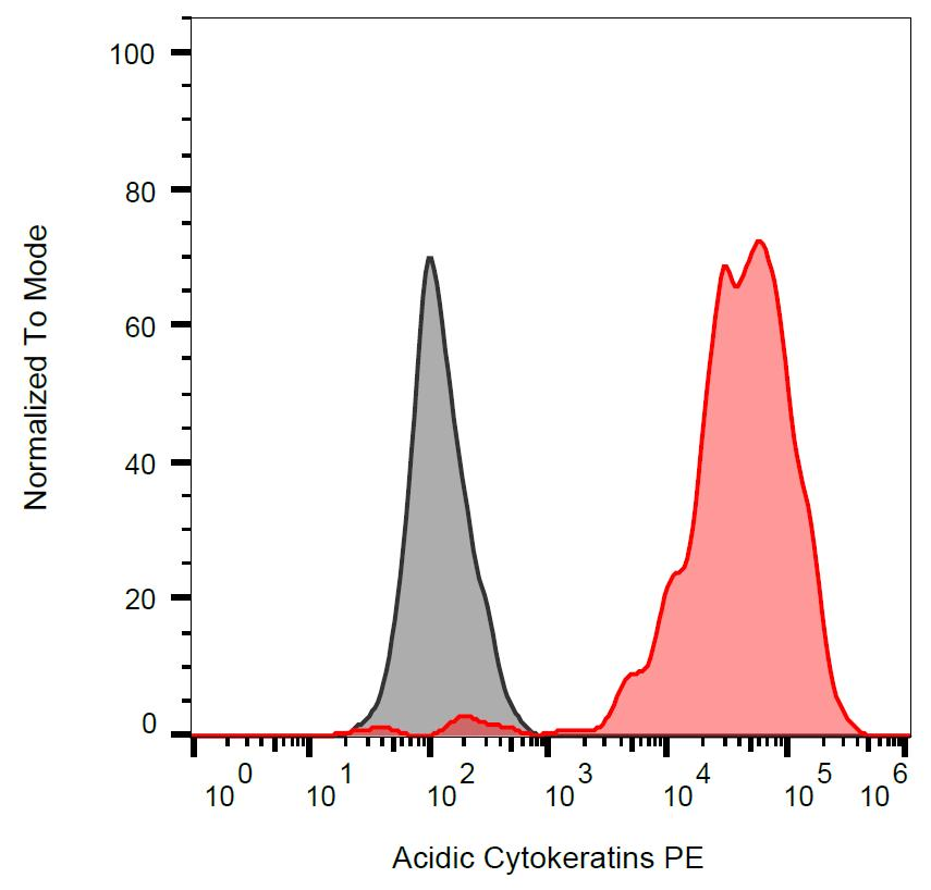PE Conjugated, Anti-Acidic Cytokeratins Monoclonal Antibody (Clone:AE1)