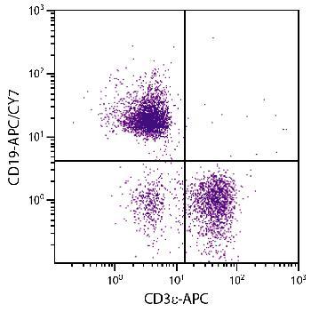 Mouse Anti-Mouse CD19-APC/CY7