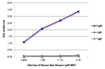 Mouse Anti-Human IgM-Biotin Conjugated