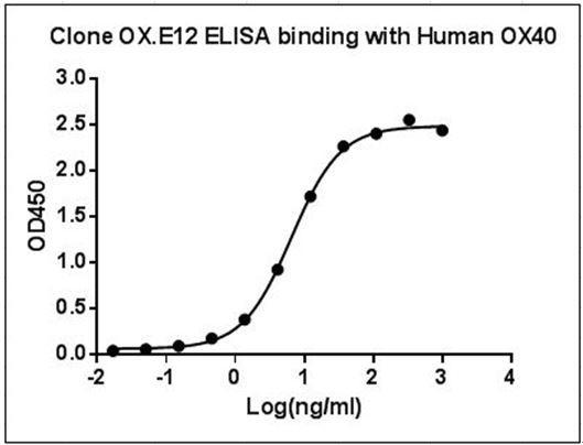 Mouse Monoclonal Antibody to Human OX40 (Clone : OX.E12)