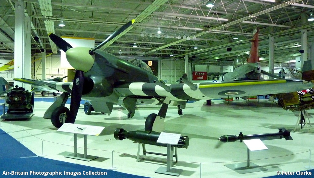 Aviation photographs of registration mn235 abpic mn235 hawker typhoon 1b royal air force museum hendon raf museum uk england peter clarke 18092010 thecheapjerseys Choice Image