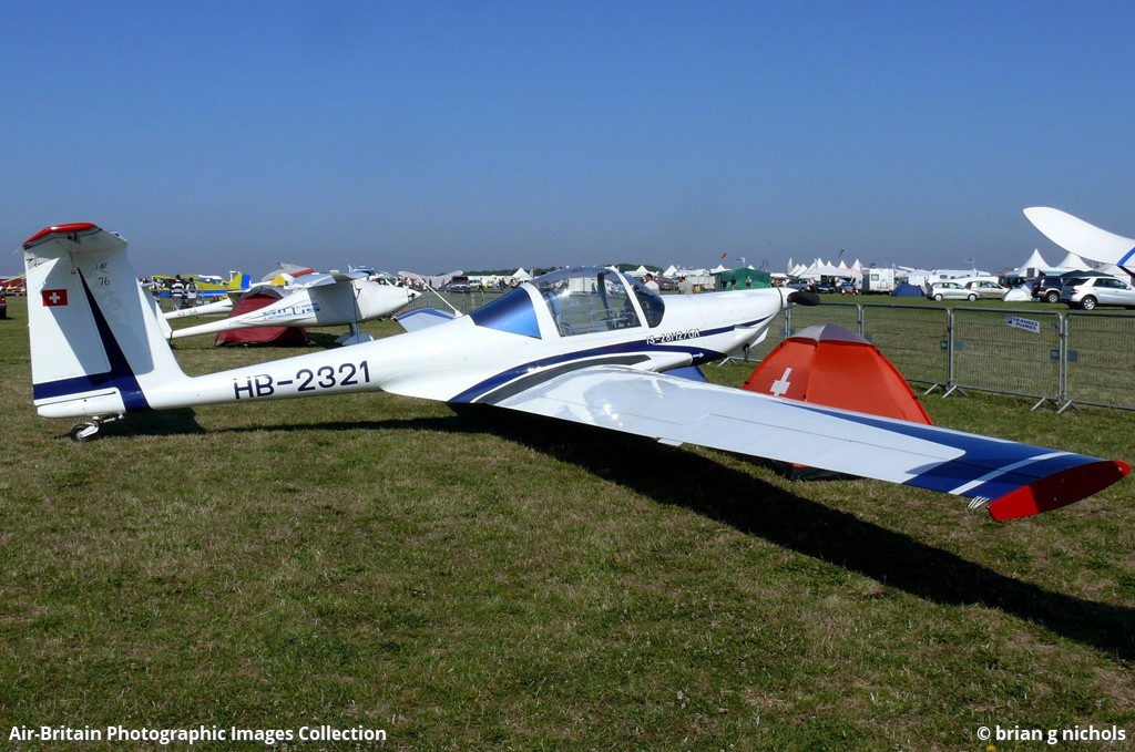 HB-2321 · ICA-Brasov IS-28M2/GR · Private · Blois-le-Breuil (LFOQ), France  · brian g nichols - 30/08/2008