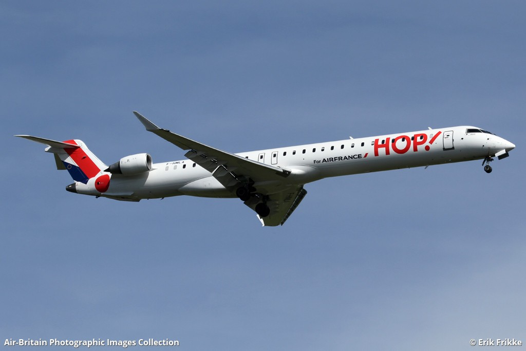 aviation photographs of operator air france hop britair db bzh abpic. Black Bedroom Furniture Sets. Home Design Ideas