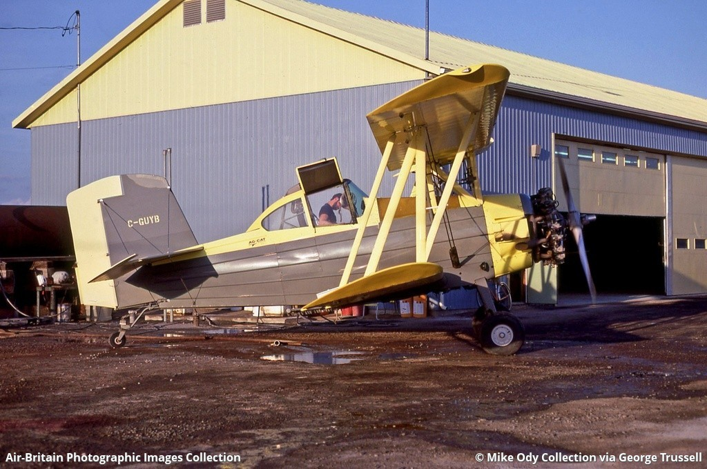 aviation photographs of registration c guyb abpic