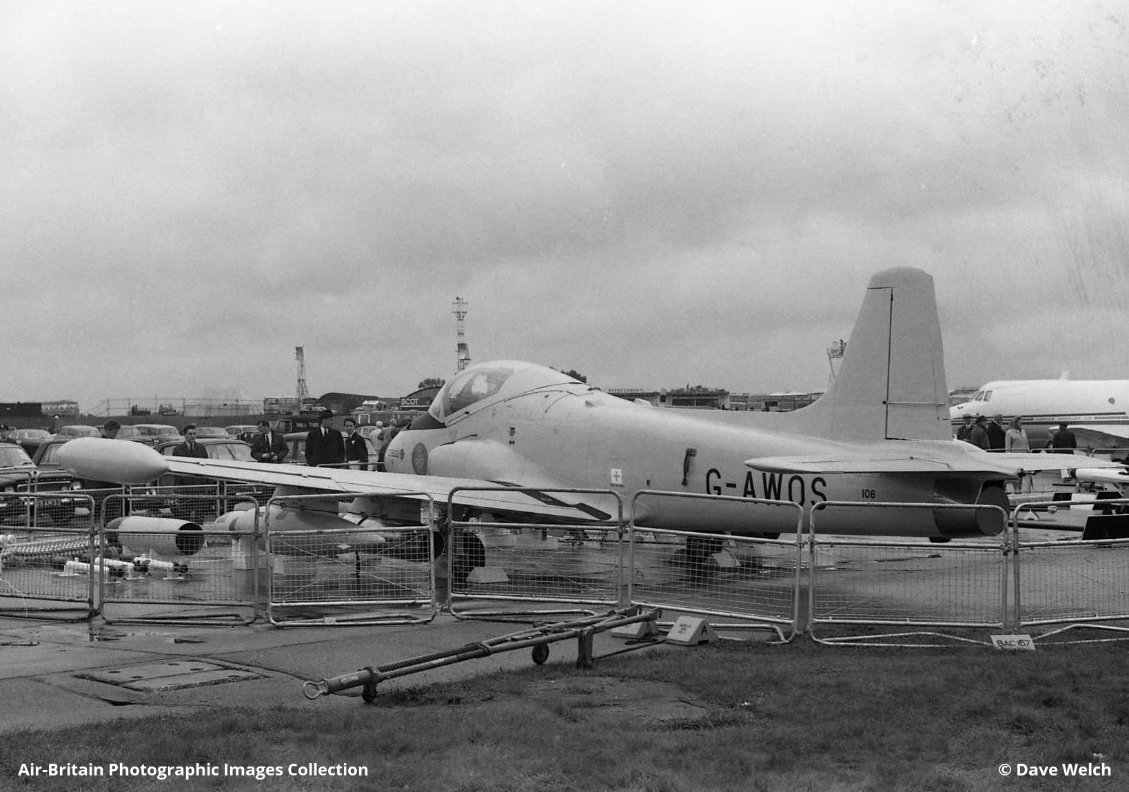 Uk Ministry Of Defence Bristol Britannia Makes A Visit To The Maker S Factory At Filton In 1983 As Civil Airliner It Had Flown For Boac British Eagle