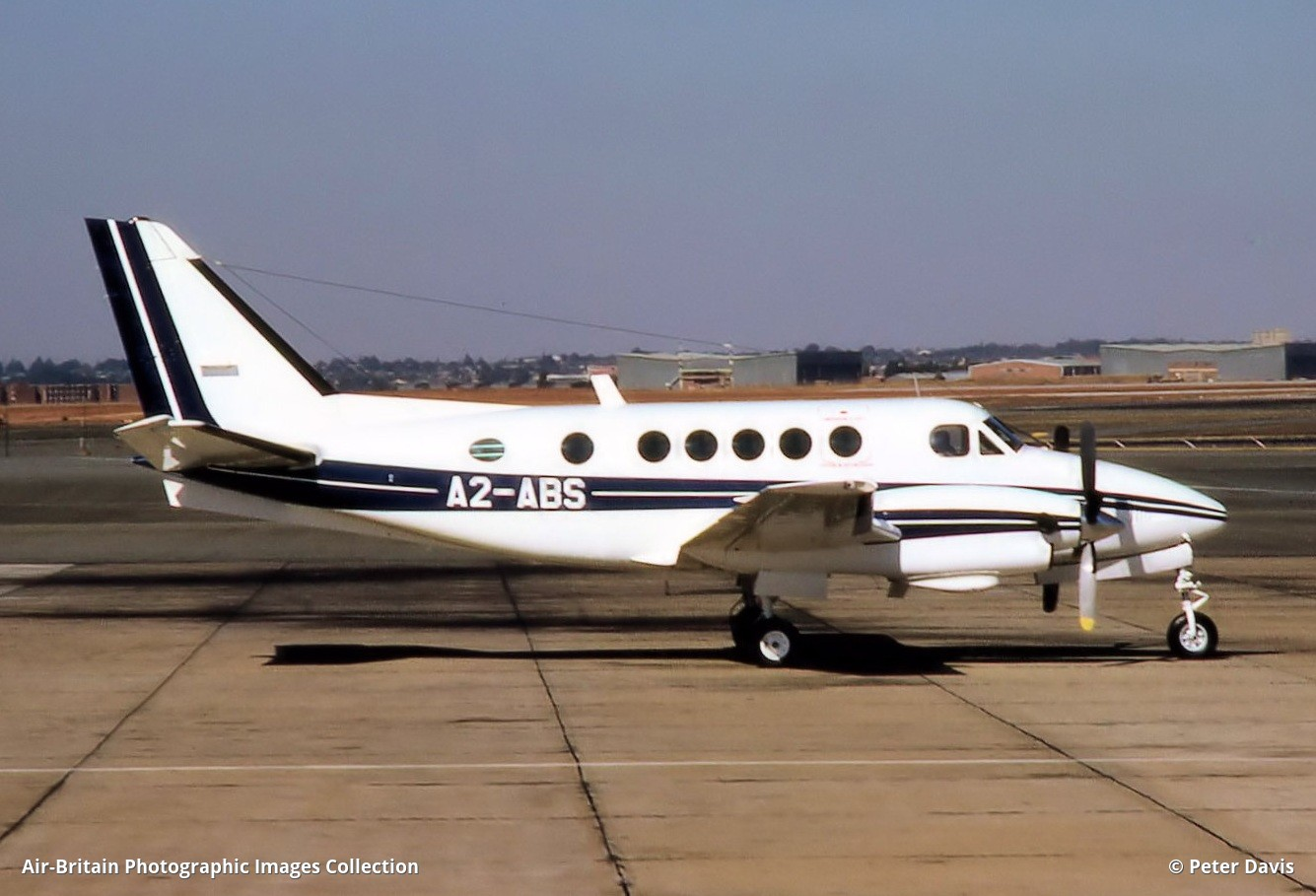 Beech a100 king air a2 abs b 105 de beers mining abpic contact peter davis altavistaventures Image collections