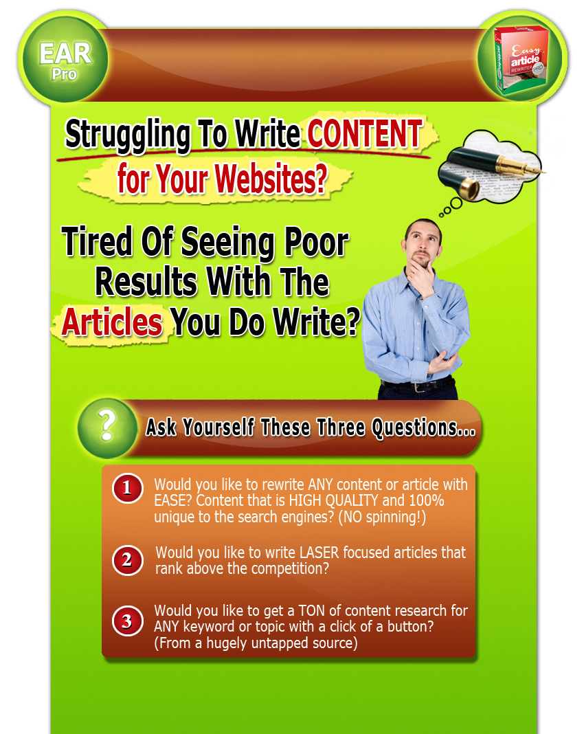 How to write articles fast