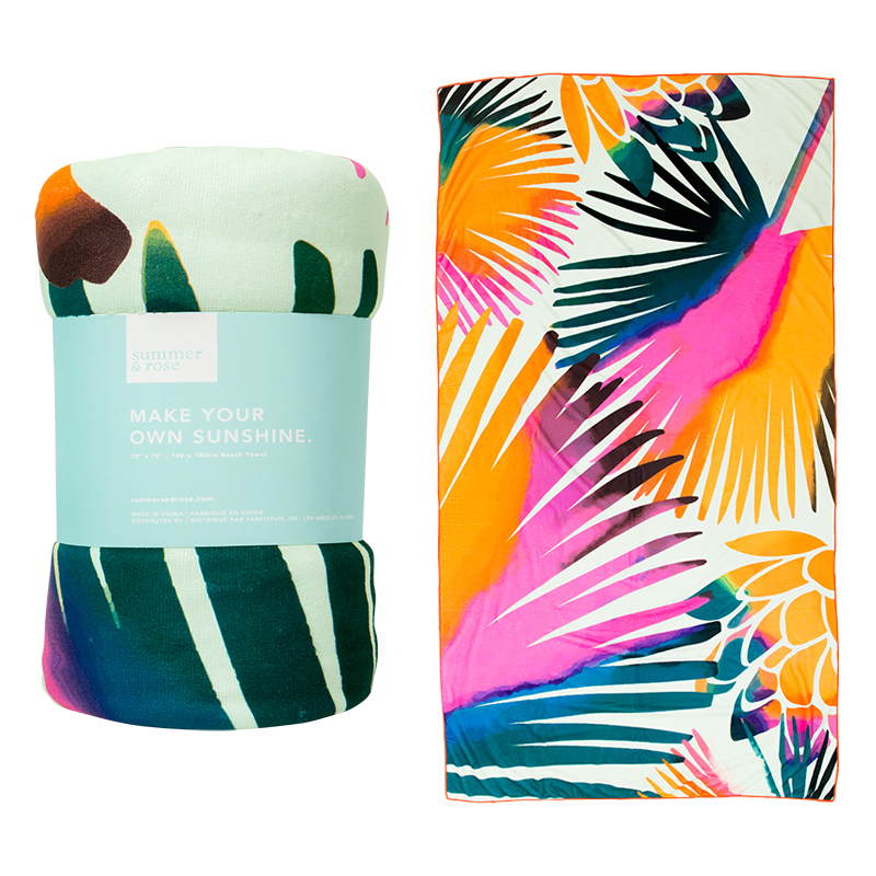 Summer & Rose Beach Towel