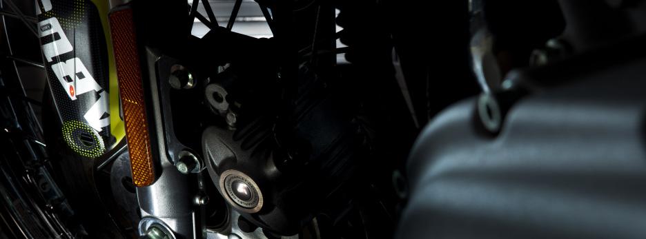Lightweight, High-Tech Alarm Brake Disc Locks
