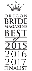 Oregon Bride Best of Finalist 2017
