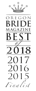Oregon Bride Magazine Best of 2018 2017 2016 2015 Ace of Hearts Films Videography