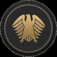 Deutsche eMark (DEM) coin