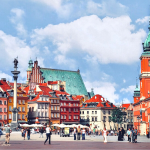 warsaw in daytime