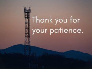 radio tower at sunset