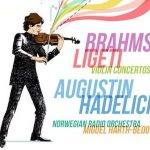 cd cover with cartoon of man playing violin