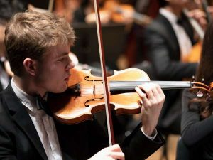 Youth violinist