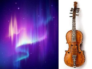 Northern lights and instrument