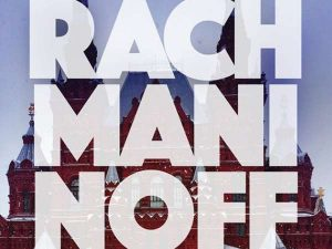 Rachmaninoff spelled in block letters