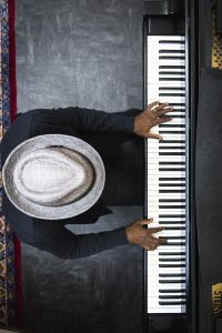 Darrell grant playing piano