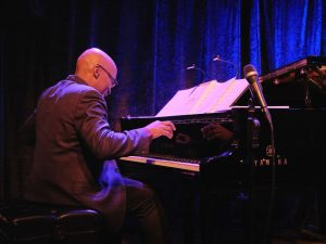 Darrell Grant at the piano