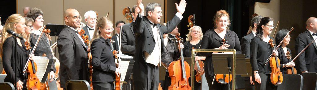 Vancouver Symphony Orchestra musicians