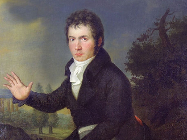 painting of young beethoven