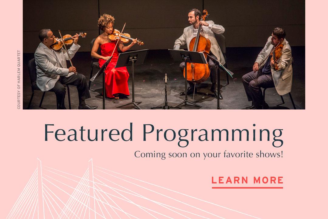 Featured Program - Harlem Quartet