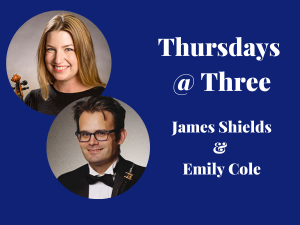James Shields and Emily Cole