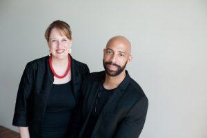 Damien Geter and Katherine FitzGibbon