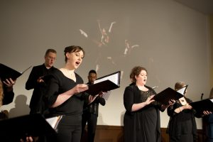 Singers from Resonance Ensemble