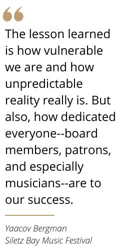 Quote from Yaki Bergman