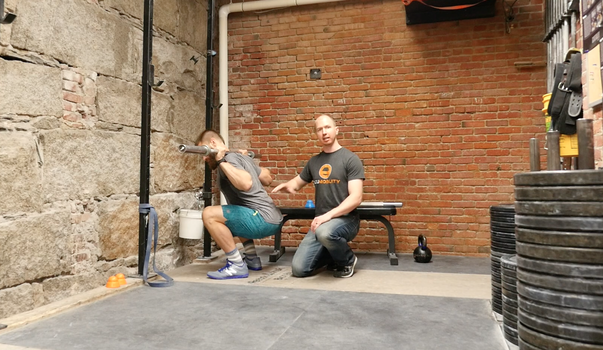 How to Fix Low Back Stiffness/ Rounding in the Deep Squat