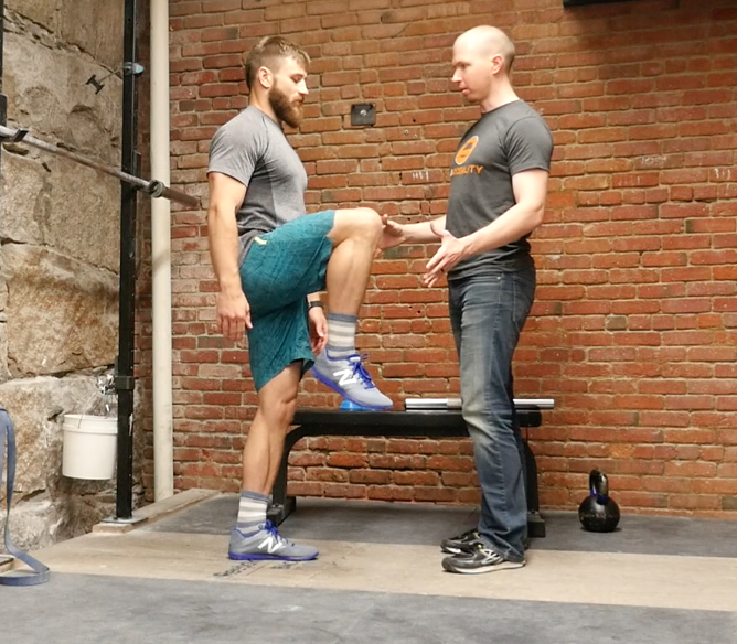 Psoas test no hands