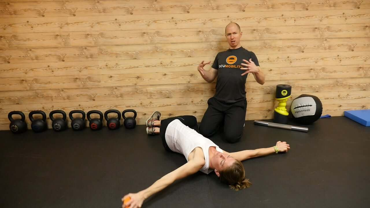 Diaphragm Trigger Point Release Progression