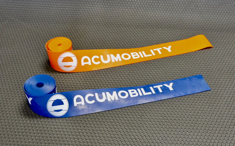 acumobility floss band level 1 level 2 dual