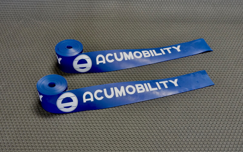 acumobility floss band level 2 blue dual